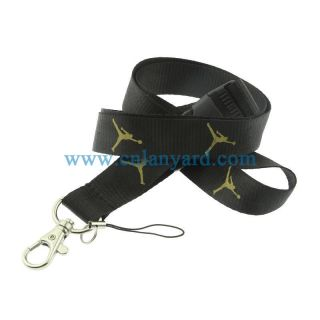 Fashion Games/NFL/NBA/ sports polyester lanyards bulk and cheap custom lanyards