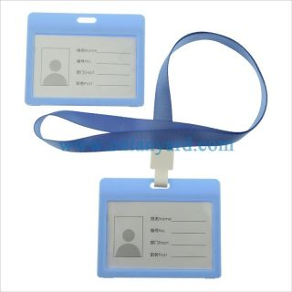 PVC plast Customized bank card holder ID card holder credit card holder